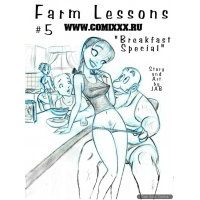 Erotic Comic - Jab - Farm Lesson  5 - Breakfest Special